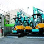 建設機械レンタル、環境リサイクル機器の販売、<br>福祉用具の卸レンタル 3つの柱で事業を展開