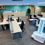 自律走行型UV除菌ロボ販売など開始<br>10プロジェ クト始動 ロボットセンター開設へ