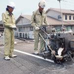 <b>[路面標示施工技能士]</b> 道路区画線工事を手掛ける専門職<br>
